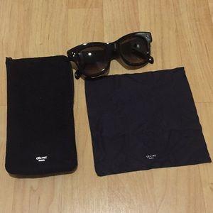 Celine Helen CL 41397/S Sunglasses Black tortoise